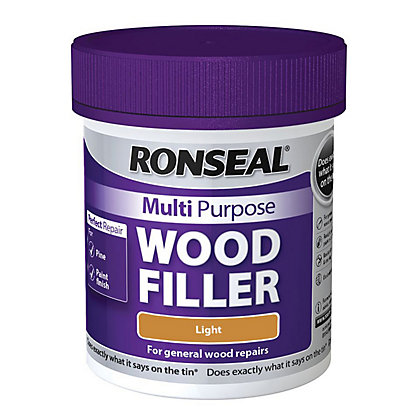 Image for Ronseal Multipurpose Wood Filler Tub - Light - 250g from StoreName