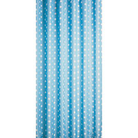Home of Style Polka Dot Shower Curtain - Blue