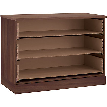 Image for Schreiber 3 Drawer Wide Chest - Walnut from StoreName