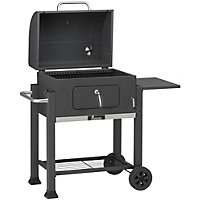 Landmann Grill Chef Tennessee Broiler Charcoal BBQ - Black