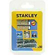 Stanley 30 Screw Anchors 50mm Countersunk Head  - STF30019-XJ