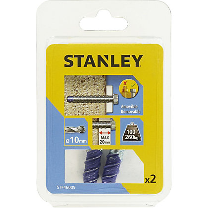 Image for Stanley 2X Screw Bolt 10 x 75mm - STF46009-XJ from StoreName