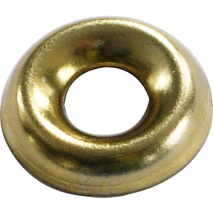 Image for Screw Cup Washer - Brass Plated - 3.5mm - 20 Pack from StoreName