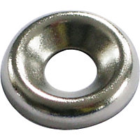 Screw Cup Washer - Nickel Plated - 3.5mm - 20 Pack