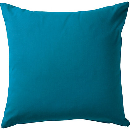 Image for ColourMatch Cotton Cushion - Lagoon. from StoreName