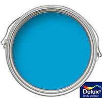 Dulux Endurance Striking Cyan - Matt Emulsion Paint - 50ml Tester