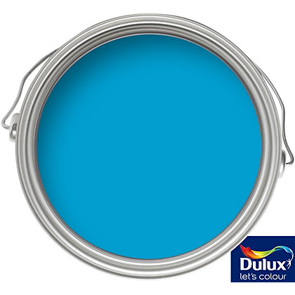 Image for Dulux Endurance Striking Cyan - Matt Emulsion Paint - 50ml Tester from StoreName