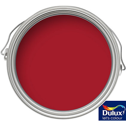 Image for Dulux Endurance Salsa Red - Matt Emulsion Paint - 50ml Tester from StoreName