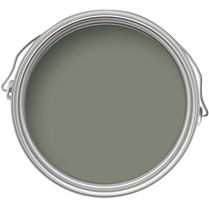 Image for Crown Fashion For Walls Tuscan Olive - Indulgence Matt Emulsion Paint - 2.5L from StoreName