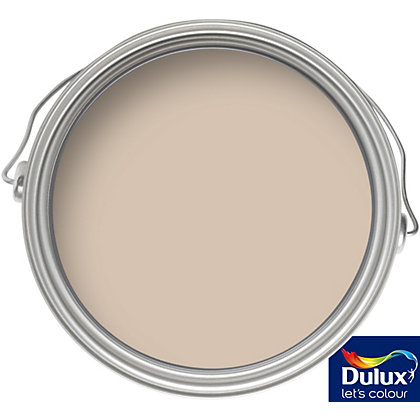 dulux once caramel latte matt emulsion paint 5l. Black Bedroom Furniture Sets. Home Design Ideas