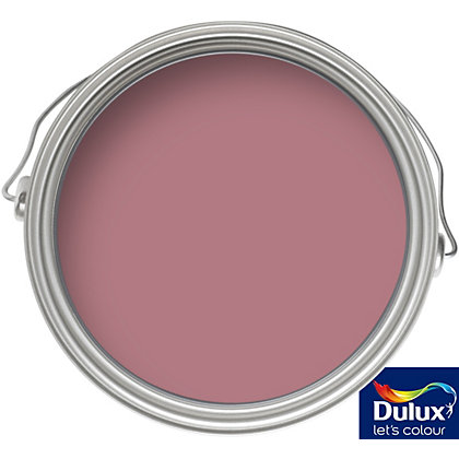 Image for Dulux Once Raspberry Diva - Matt Emulsion Paint - 5L from StoreName