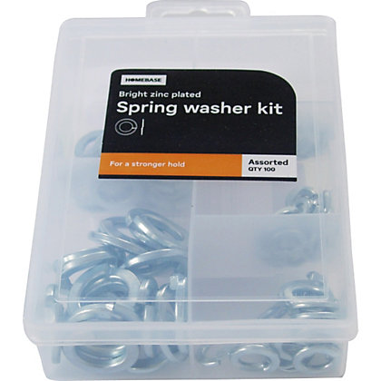 Image for Spring Washer Kit - Assorted - 100 Pack from StoreName