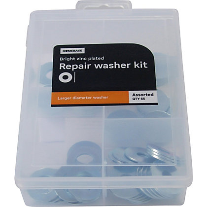 Image for Repair Washer Kit - Assorted - 65 Pack from StoreName