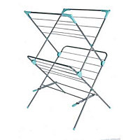 Homebase Airer Tubular - 2 Tier