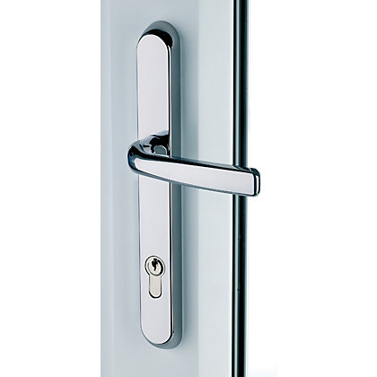 Image for Door Handle Lever Short - Chrome from StoreName