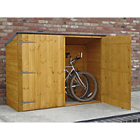 Homewood Shiplap Bike Store - 6ft x 2ft