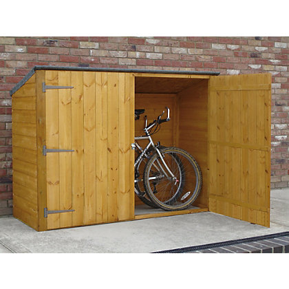 Image for Homewood Shiplap Bike Store - 6ft x 2ft from StoreName
