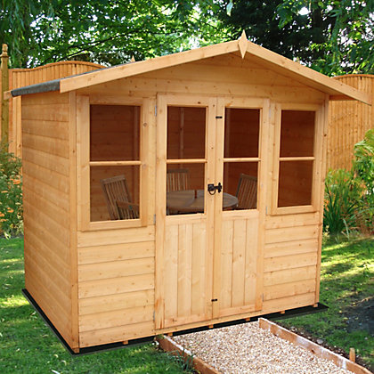 Image for Homewood Haddon Summerhouse - 7ft 1in x 6ft 3in from StoreName