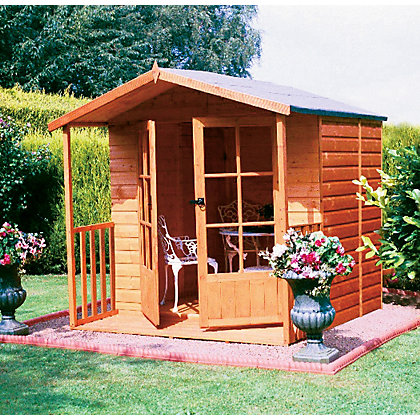 Image for Homewood Alnwick Summerhouse - 6ft 11in x 6ft 6in from StoreName
