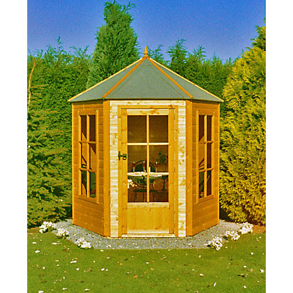 Image for Homewood Gazebo Octagonal Summerhouse - 6ft x 7ft from StoreName