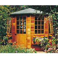 Homewood Arreton Octagonal Summerhouse - 8ft 6in x 8ft 6in