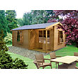 Homewood Ringwood 28mm Wooden Log Cabin - 12ft x 13ft