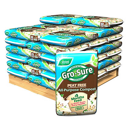 Image for Gro Sure Peat Free Compost - 2000L from StoreName