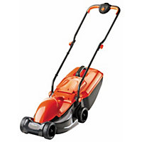 flymo electric rotary lawn mower   re320