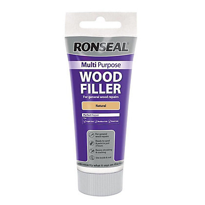 Image for Ronseal Multipurpose Wood Filler Tub - Natural - 325g from StoreName