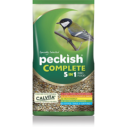 Image for Peckish Complete 5in1 Seed Mix - 1kg from StoreName