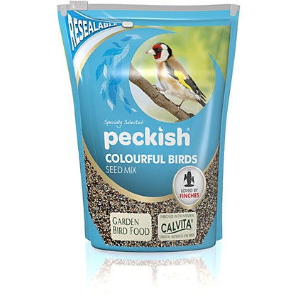 Image for Peckish Colourful Bird Seed Mix - 2kg from StoreName