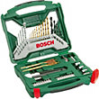 Bosch X-Line Drilling and Screwdriving Drill Bit Set - 50 Pieces