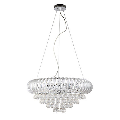 Image for Julia Ceiling Light - Clear from StoreName