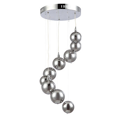 Image for Cluster Ball 3 Light Pendant - Silver from StoreName