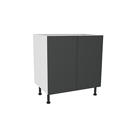 Image for Simply Hygena Chancery Grey High Line Base Unit - 800mm from StoreName