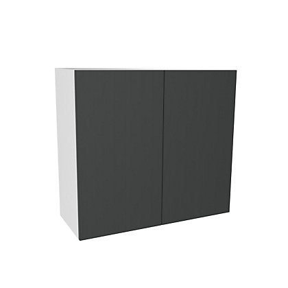 Image for Simply Hygena Chancery Grey Wall Cabinet - 800mm from StoreName