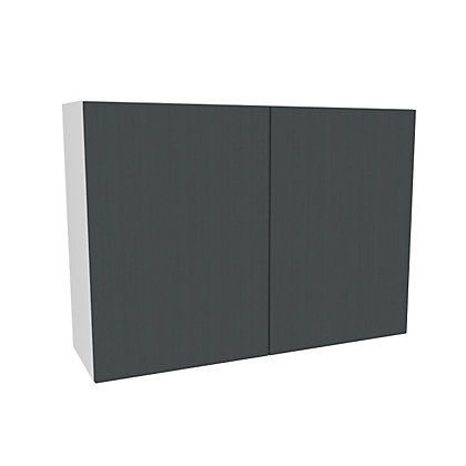Image for Simply Hygena Chancery Grey Wall Cabinet - 1000mm from StoreName