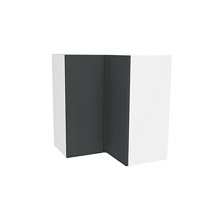Image for Simply Hygena Chancery - Grey - 635mm Corner Wall Cabinet from StoreName