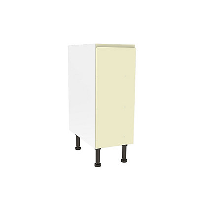 Image for Simply Hygena Kensal - Cream - 300mm Highline Base Unit from StoreName