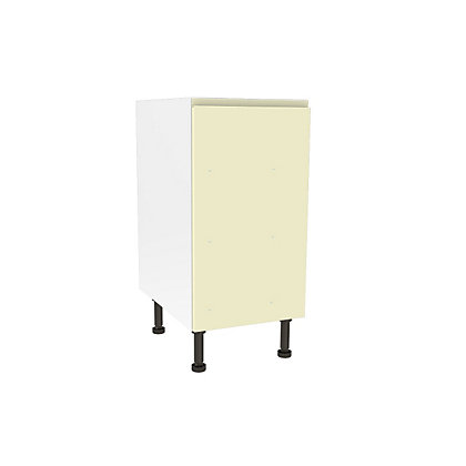 Image for Simply Hygena Kensal - Cream - 400mm Highline Base Unit from StoreName
