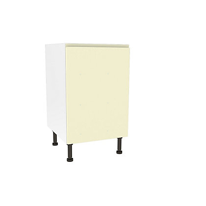 Image for Simply Hygena Kensal - Cream - 500mm Highline Base Unit from StoreName