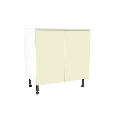 Image for Simply Hygena Kensal - Cream - 800mm Highline Base Unit from StoreName