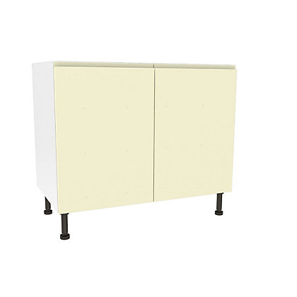 Image for Simply Hygena Kensal Cream High Line Base Unit - 1000mm from StoreName