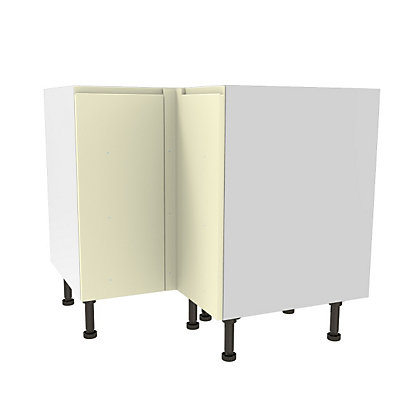Image for Simply Hygena Kensal Cream High Line Corner Base Unit - 935mm from StoreName