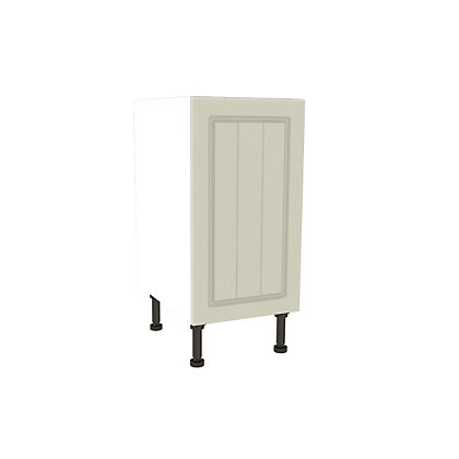 Image for Simply Hygena Chesham - Cream - 400mm High Line Base Unit from StoreName