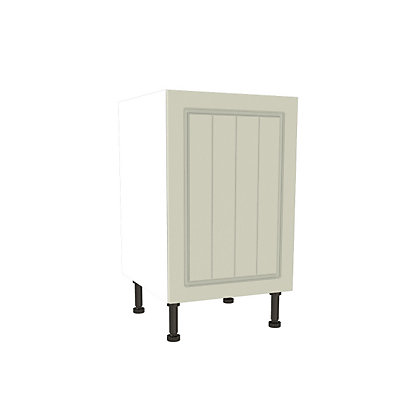 Image for Simply Hygena Chesham Cream High Line Base Unit - 500mm from StoreName