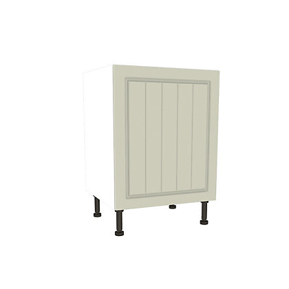 Image for Simply Hygena Chesham Cream High Line Base Unit - 600mm from StoreName
