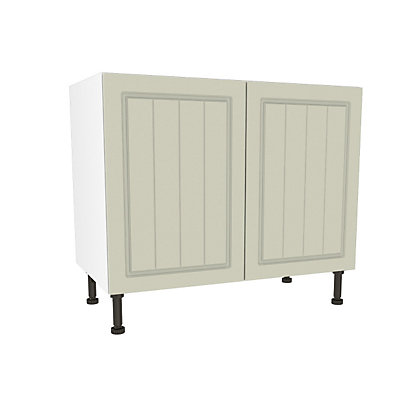 Image for Simply Hygena Chesham Cream High Line Base Unit - 1000mm from StoreName