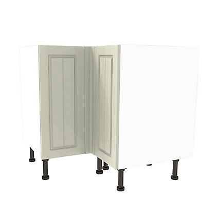 Image for Simply Hygena Chesham Cream High Line Corner Base Unit -935mm from StoreName