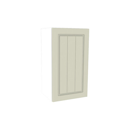 Image for Simply Hygena Chesham Cream Wall Cabinet - 400mm from StoreName